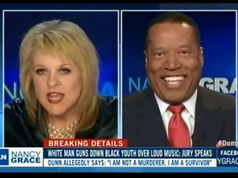 Larry Elder Clashes with Nancy Grace over Merits of the Michael Dunn Verdict