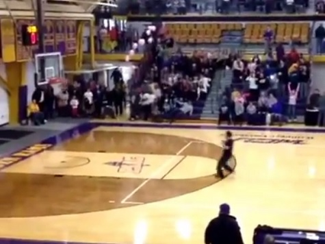 College Denies Student $10K Prize for Sinking Half-Court Shot on Second Attempt