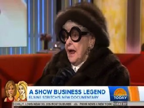 89-Year-Old Broadway Legend Elaine Stritch Drops F-Bomb on 'Today Show'