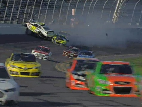 Parker Kligerman, Paul Menard, Joey Logano Involved in Massive Crash in Practice for Daytona 500