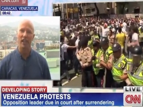 CNN Venezuela Crew Cameras Stolen At Gunpoint As National Guard Troops Stand By And Watch