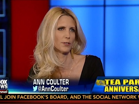 Coulter: 'Conmen and Scamsters' Acting in the Name of the Tea Party for Ill-Gotten Gains