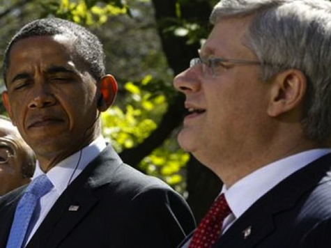 PM Harper Slams Obama for 'Climate Change' Reasoning on Keystone XL: 'In Canada We Have a Single Review'