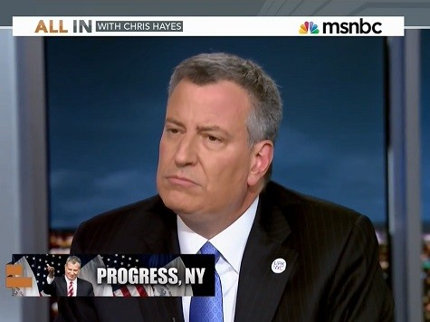 De Blasio: Part of My Job to Be a Defender of Israel
