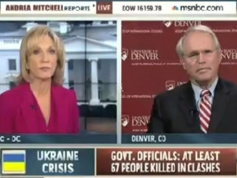 'Did We Provoke Russia?': Andrea Mitchell Poses Question if America is to Blame for Ukraine Crisis