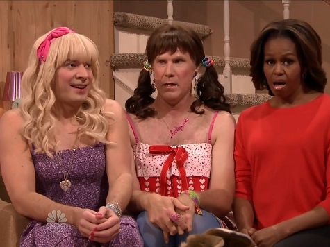 Michelle Obama Appears in Skit with Jimmy Fallon, Will Ferrell Dressed as Teenage Girls