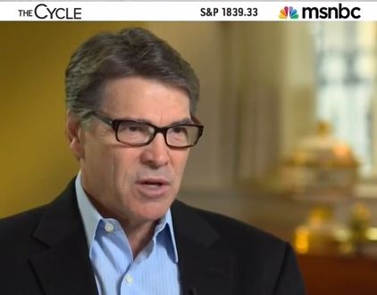 Rick Perry Is Waiting for Obama to Thank Him 'For Saving Our Bacon'