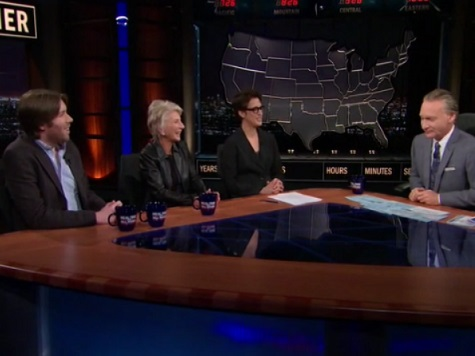 Maher, Cooke Team Up Against Maddow over MSNBC Bias