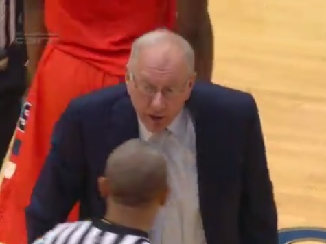 Jim Boeheim Ejected After Controversial Charge Call in Game Against Duke