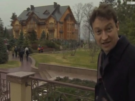 Revealed: Ukraine Ousted Leader's Opulent Country Estate