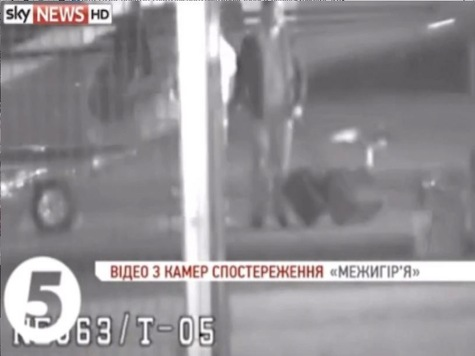 Video of Helicopter Escape as Ukraine President Stopped from Leaving Country