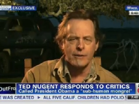 Ted Nugent: 'I Take a lot of My Cues from Bill Maher'