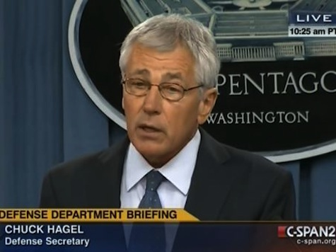 Hagel On Dismantling the US Military: Dominance 'Can No Longer Be Taken for Granted'