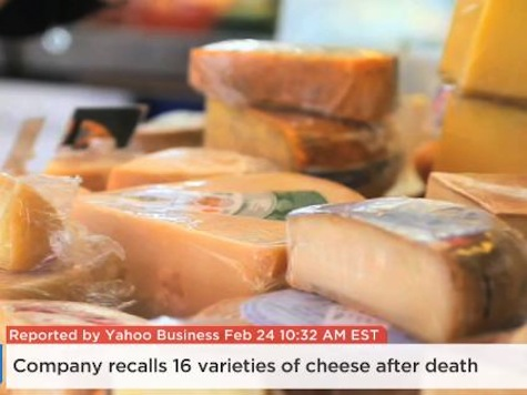 Company Recalls 16 Varieties of Cheese After Death