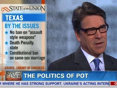 Rick Perry Explains His Position on the Politics of Marijuana
