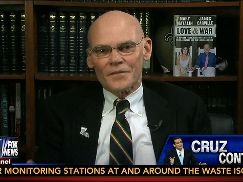 James Carville Gives Ted Cruz High Marks