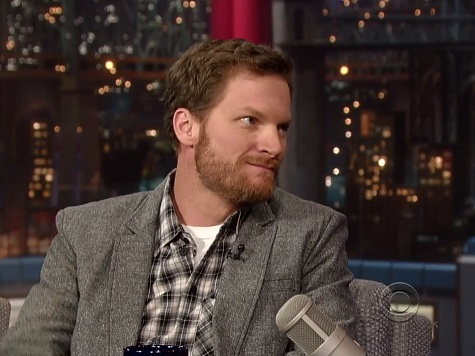 Earnhardt, Jr. Makes Traditional Letterman Appearance Following His Daytona 500 Win