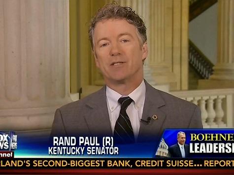 Rand Paul: 'Democrats Mistake Bill Clinton's Popularity'