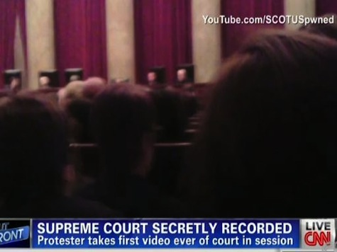 For the First Time in History Video of the Supreme Court Secretly Recorded