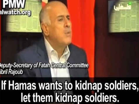 Palestinian Authority Official Supports Hamas Kidnapping of Israeli Soldiers