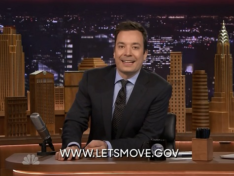 Fallon's 'Tonight Show' Runs PSA for Michelle Obamas 'Let's Move' Campaign