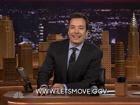 Fallon's 'Tonight Show' Runs PSA for Michelle Obamas 'Let's Move' Campaign