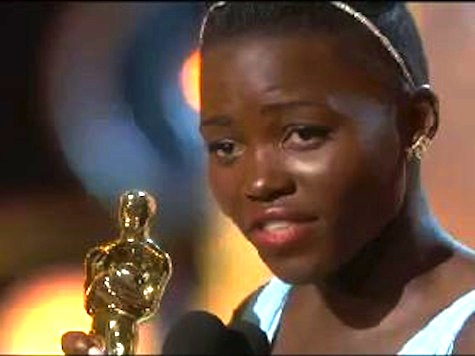 Lupita Nyong'o Gives Best Supporting Actress Acceptance Speech