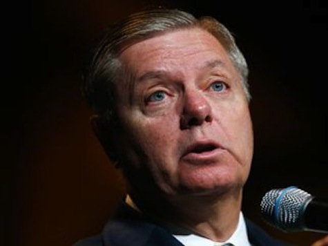 Lindsey Graham: Every Time Obama Goes on TV and Threatens Dictators 'Everybody's Eyes Roll'