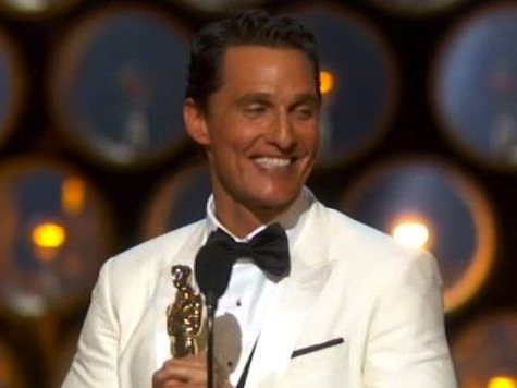 'If You Got God, You Got A Friend': Matthew McConaughey's Rousing Oscar Acceptance Speech