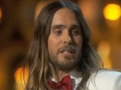 Best Supporting Actor Winner Jared Leto Thanks 'Dreamers' of Ukraine and Venezuela