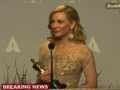 Post-Oscar Win Cate Blanchett Drops F-Bomb Live on CNN