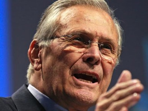 Donald Rumsfeld: Obama's Leadership Vacuum Has Injected Instability Throughout The World