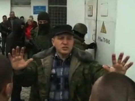 Russia Troops Seize Ukraine Navy Base