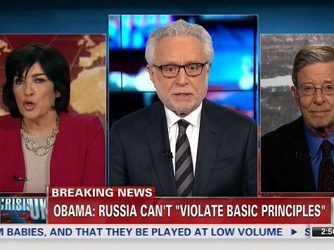 Christiane Amanpour Berates Wolf Blitzer for Quoting Russian Officials on Ukraine