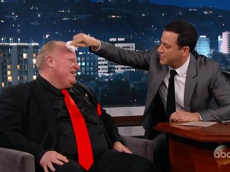 Watch: Jimmy Kimmel Interviews Toronto Mayor Rob Ford