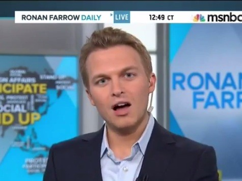 SUPERCUT: Ronan Farrow's Rough First Week