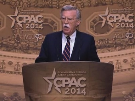 'Barack Obama is Our Nation's Biggest National Security Crisis': Ambassador John Bolton at CPAC