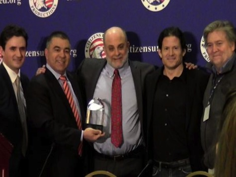 'The Five' Highlights Mark Levin Receiving the First Annual Andrew Breitbart Free Speech Award