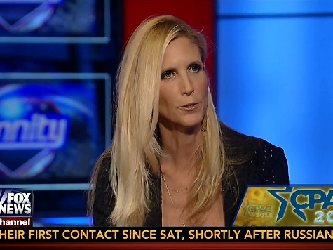 Coulter Calls Out GOP Establishment, CPAC for Lack of 'Anti-Amnesty' Posture