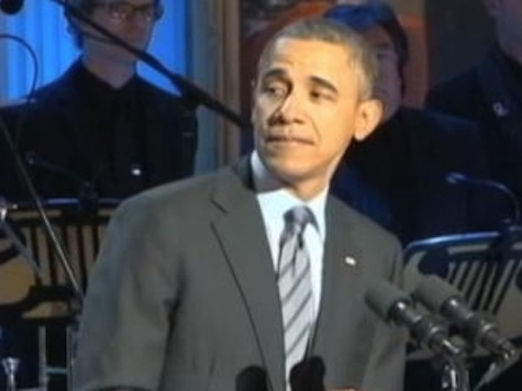 Obama Misspells 'R-E-S-P-E-C-T' at Aretha Franklin Concert