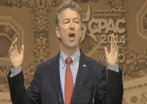 Rand Paul Addresses CPAC: Lovers Of Liberty Must Stand Against The Tyranny Of Obama