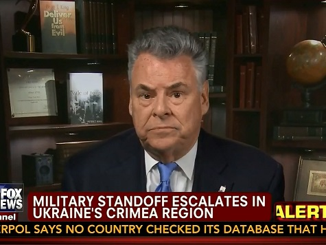 Rep. Peter King on a 2016 Presidential Bid: 'I Would Do a Better Job than Rand Paul'