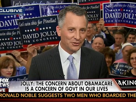 Rep.-Elect David Jolly Hits Nancy Pelosi in Special Election Win