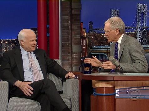 David Letterman Revisits His Sarah Palin Controversy with John McCain