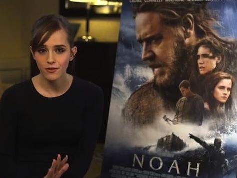 Watch: Emma Watson Blooper Intro of 'Noah' New Trailer