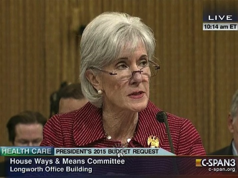 HHS Sec Kathleen Sebelius, GOP Rep Tom Price Get into Heated Exchange Over ObamaCare Numbers