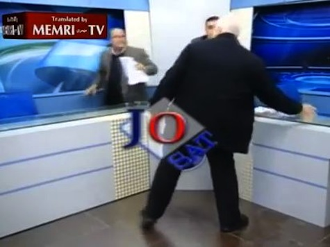 'I Will Use You To Mop The Floor': Wild Brawl Erupts Live on Jordanian TV Over Assad
