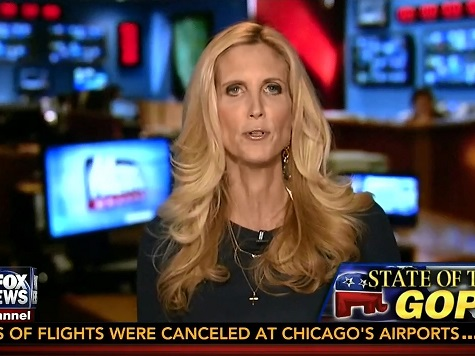 Coulter Doubles Down on Attack of 'Con Men and Shysters' Using the Tea Party for Monetary Gain