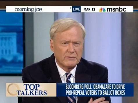 MSNBC's Matthews: 'I Think the Senate Goes'
