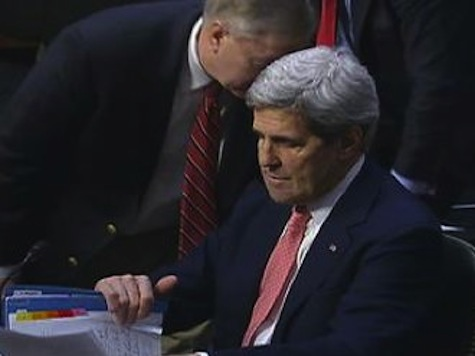 Hot Mic: Lindsey Graham Asks John Kerry to Let Him Know What He Can Do to Help with Boehner